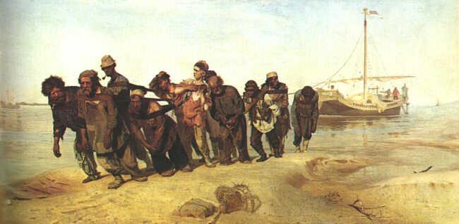 Volga Boatmen