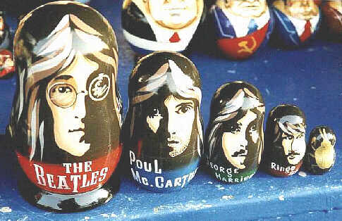 Beatles Nesting Dolls